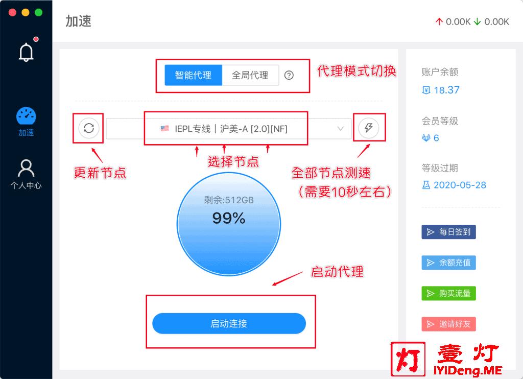 MieLink羊圈Windows客户端操作界面